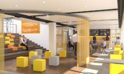 interier Forum Zoetermeer ontwerp OTH architecten