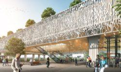 ontwerp Team V voor station Lansingerland Zoetermeer