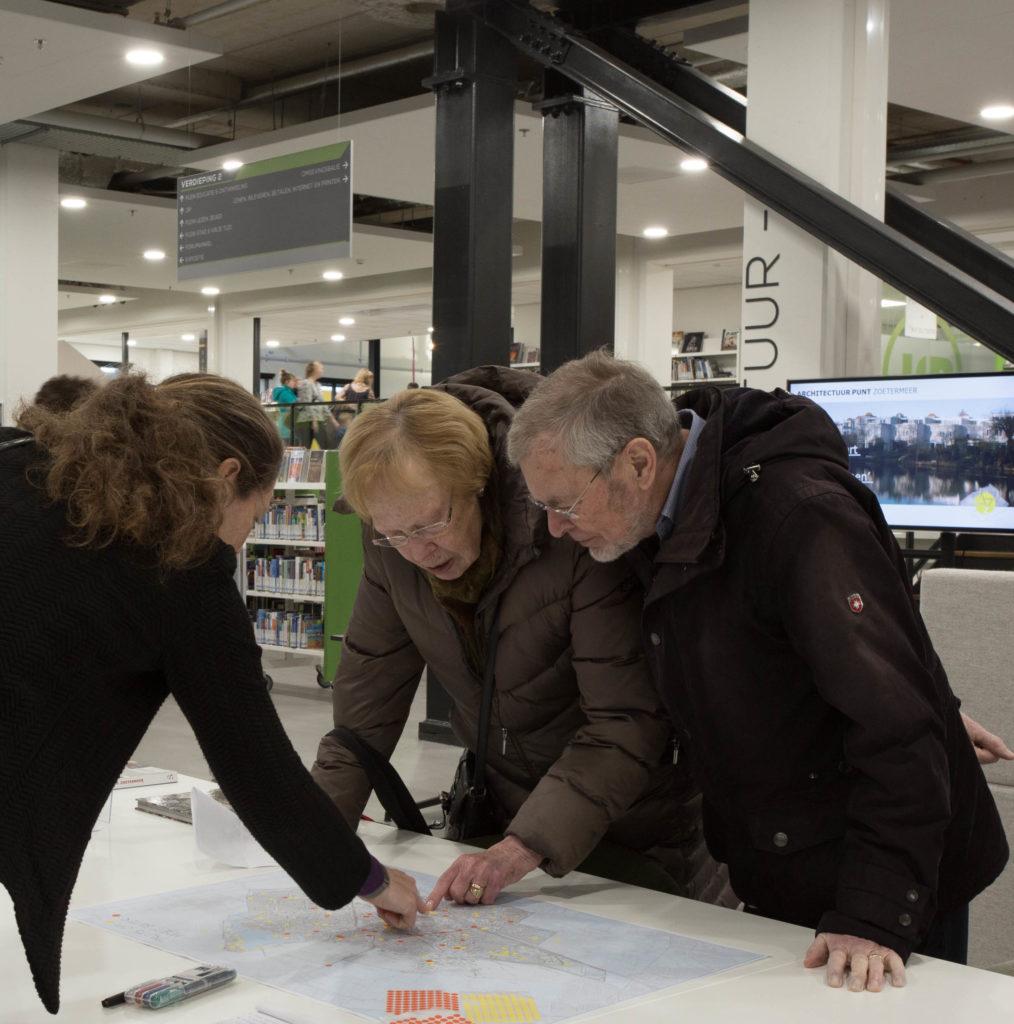 plekken op de kaart van Zoetermeer die verbetering behoeven