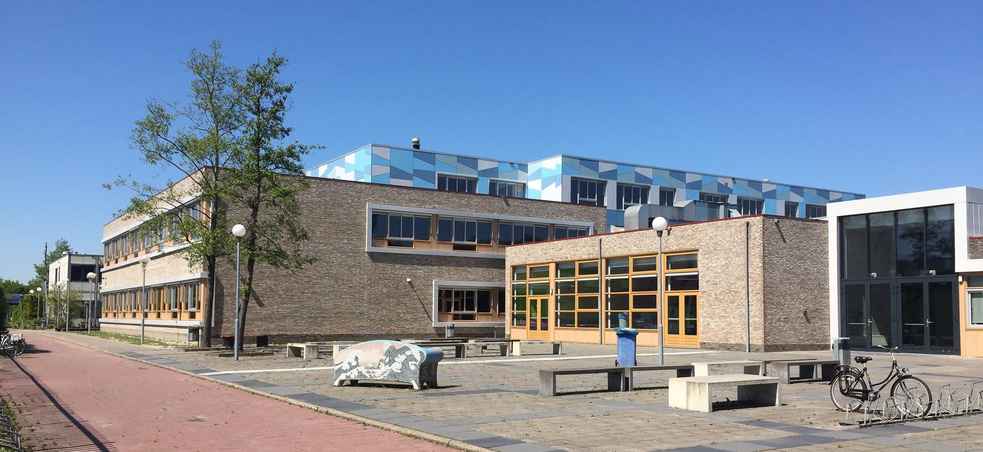Nieuwe gevels Alfrink College