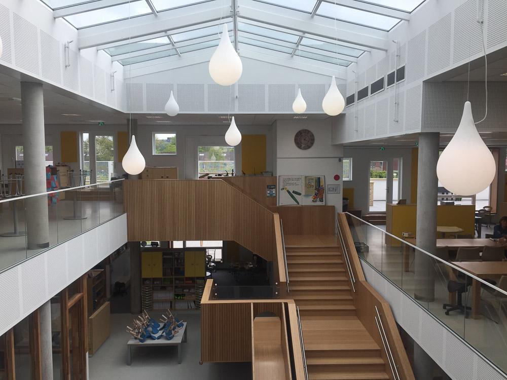 interieur school zonder klassen Toverberg Zoetermeer