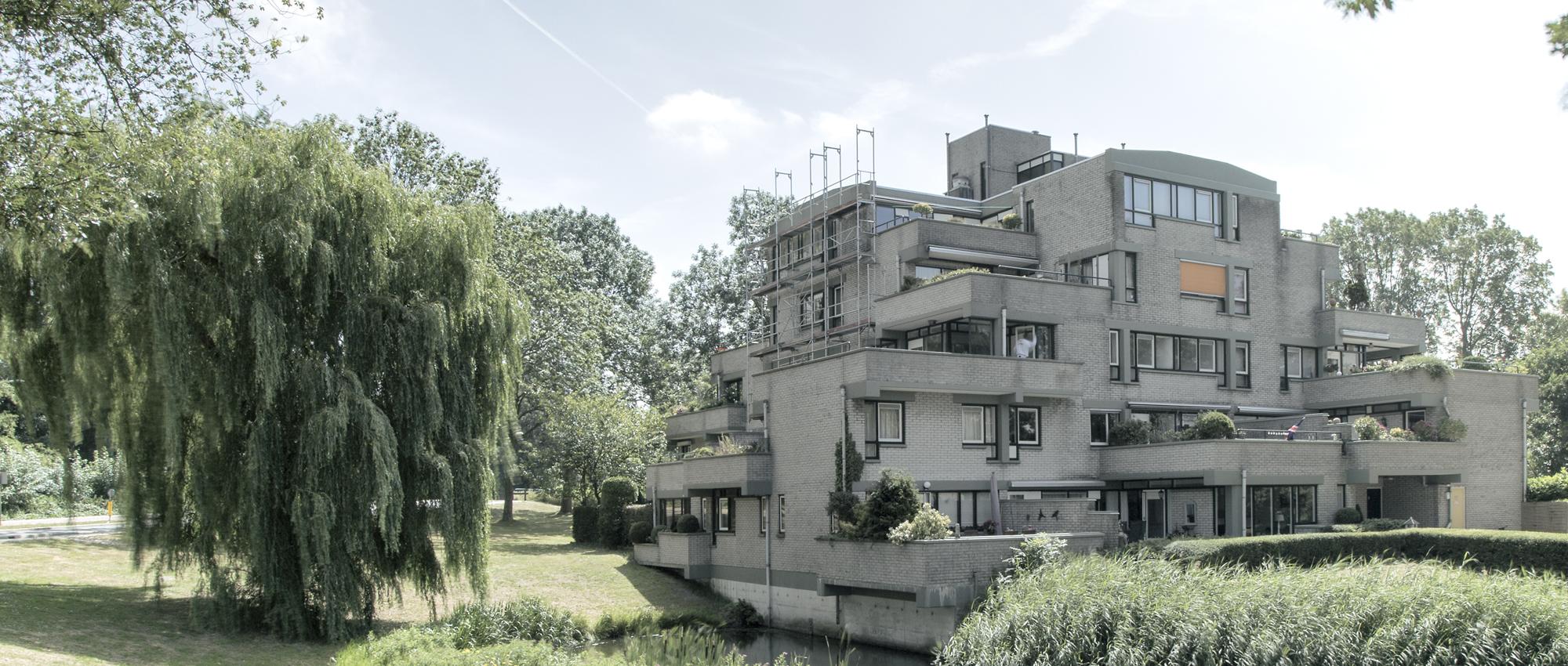 Terrasflat zoetermeer experimentele woningbouw