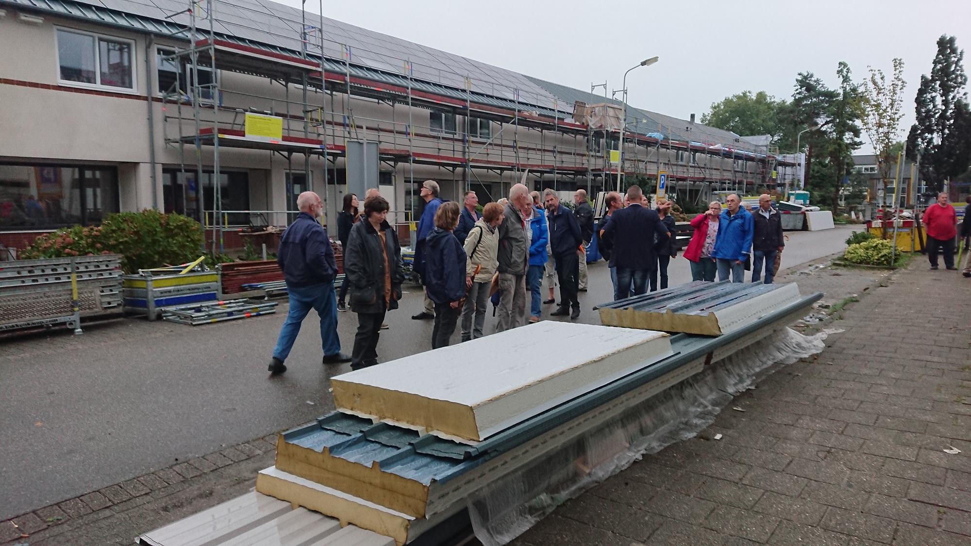 projectbezoek tijdens bouw van nul op de meter woningrenovatie