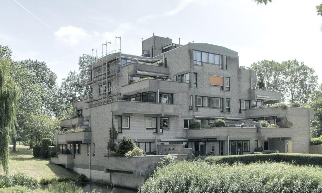 experimentele woningbouw terrasflat zoet