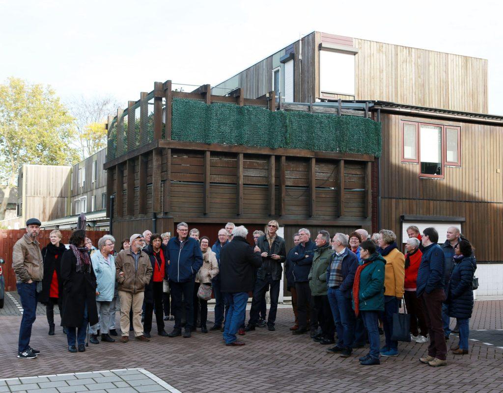 Houtskeletbouwwoningen Zoetermeer excursie