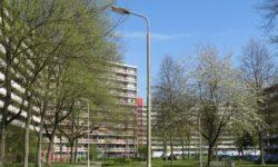 grote galerijflats in Zoetermeer