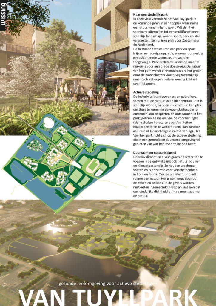 Stedelijk park voor de actieve stedeling