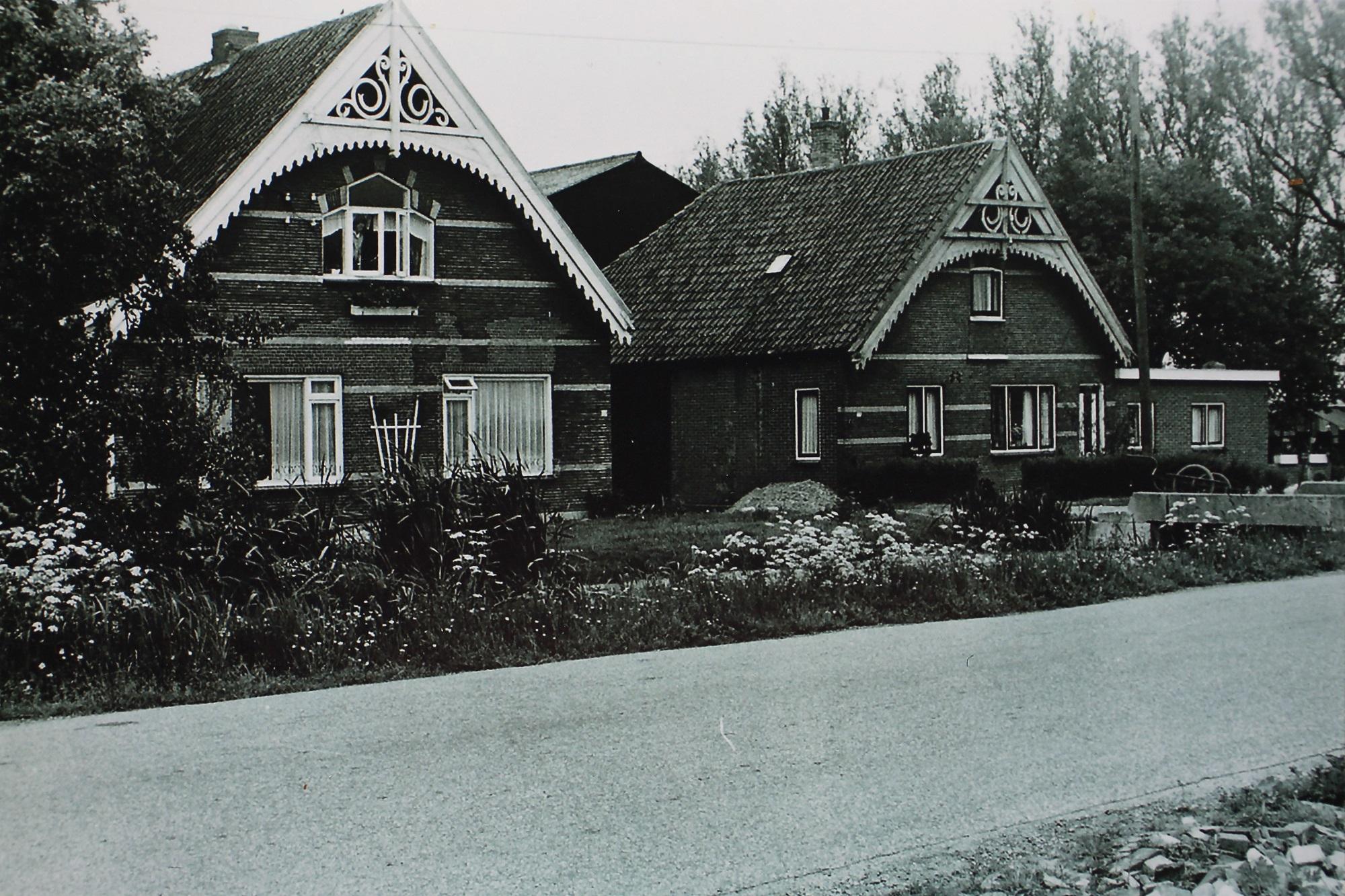 historische foto woningen Zegwaartseweg Zoetermeer