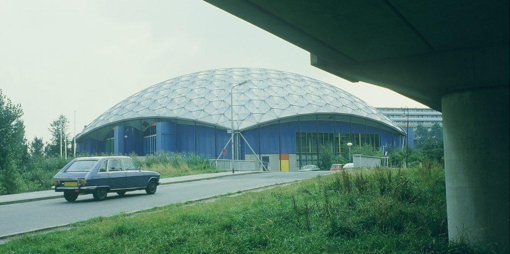 Sportkoepel Olympus, modern erfgoed architectuur