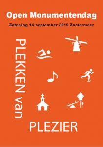open monumentendag zoetermeer programma