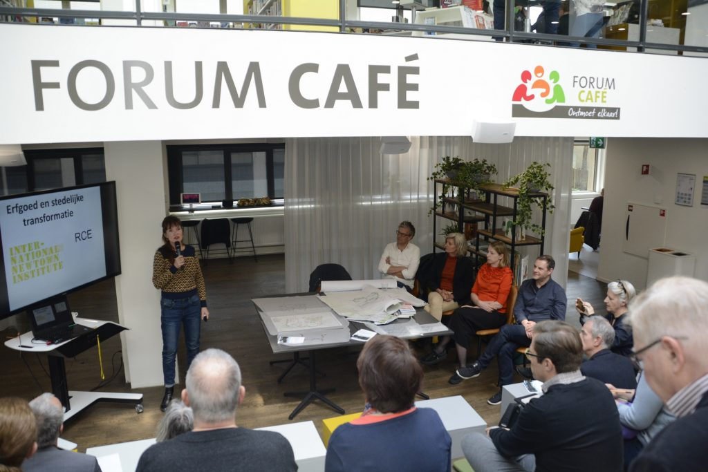 Presentatie resultaten New Town Lab in Forum Zoetermeer