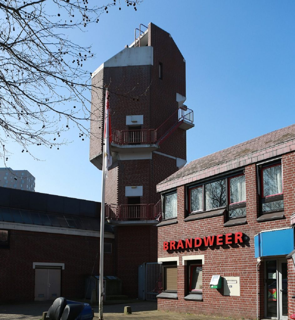 oefentoren brandweer in Zoetermeer