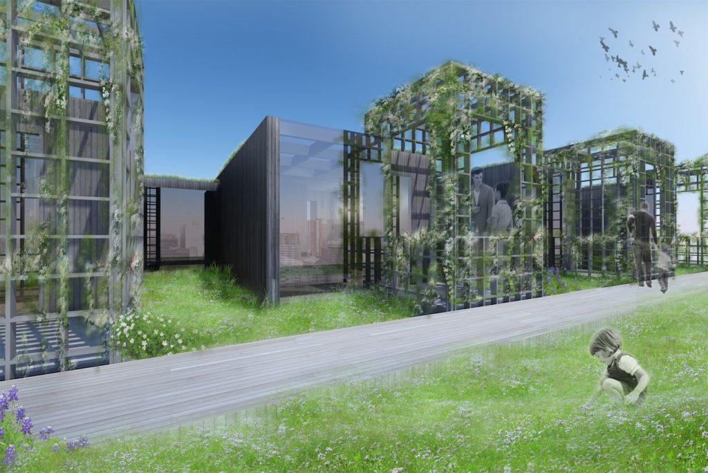 The green cube maakt groene daken toegankelijk