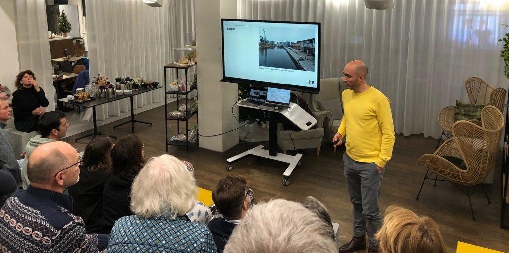 lezing over broedplaats de besturing door Aldo Kroese