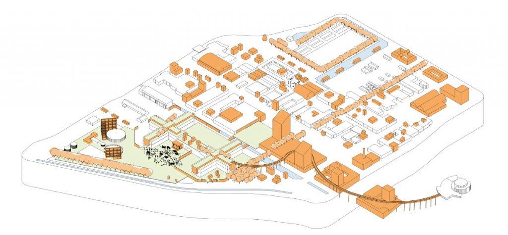 Strategie die bedrijventerrein Rokkehage transformeert in bronzen dorp