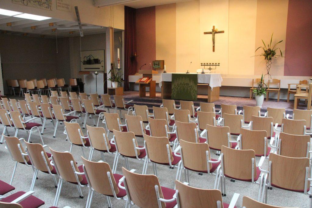 interieur wijkkerk De Doortocht