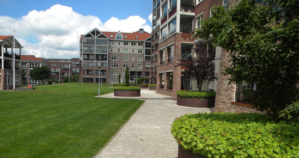 appartementen complex nuova campagna met binnentuin in zoetermeer