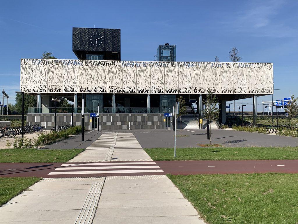 station lansingerland zoetermeer gevel