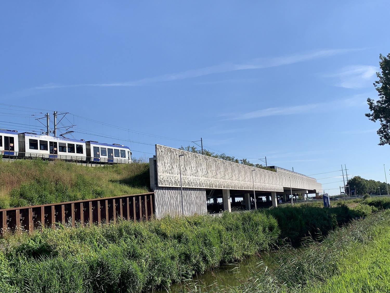 viaduct station lansingerland zoetermeer