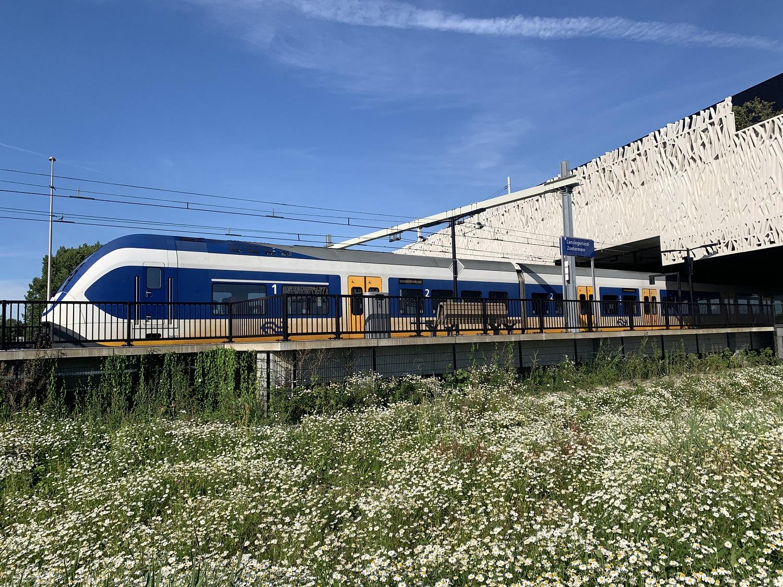 station lansingerland zoetermeer met trein
