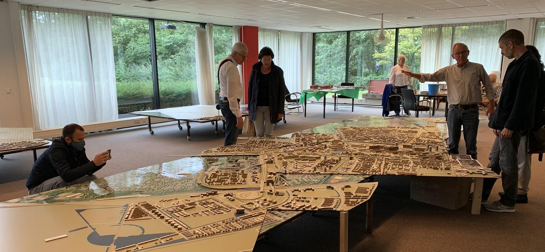 Stadsmaquette op Dag van de Architectuur Zoetermeer