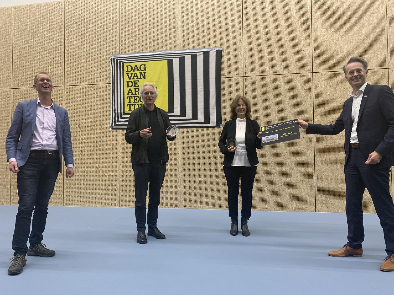 uitreiking gemma smid architectuurprijs aan station lansingerland zoetermeer