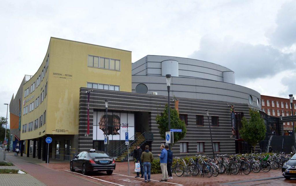 kantoren maken deel uit van het complex stadstheater zoetermer