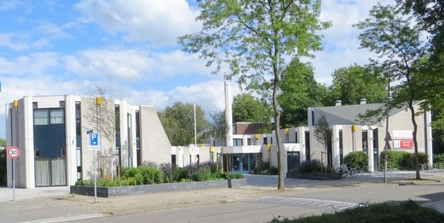 gevel Ichthuskerk zoetermeer