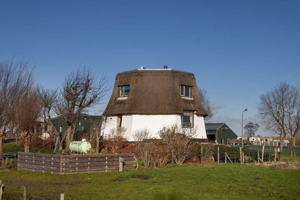 Middenmolen in de molen driegang aan de slootweg in Zoetermeer