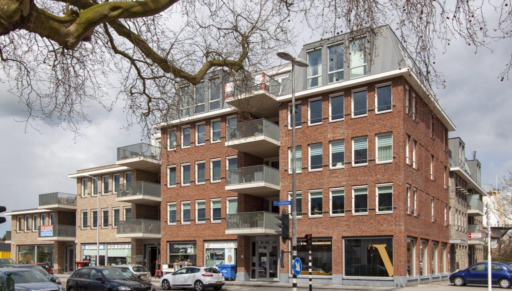 appartementen nieuwbouw aan de oranjelaan