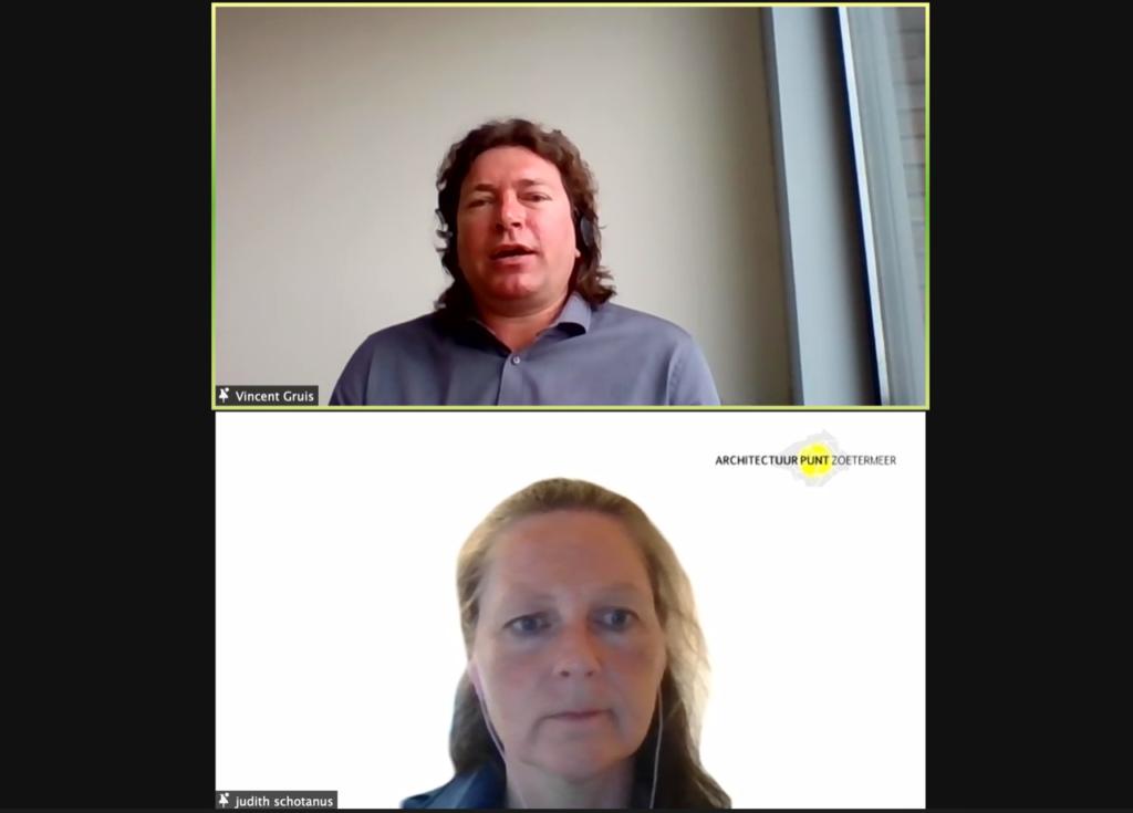 vincent gruis geeft online lezing circulair bouwen